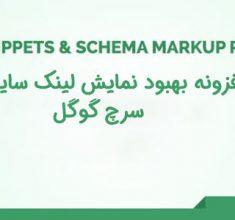 افزونه Rich Snippets Schema Markup | افزونه بهبود نمایش لینک سایت در سرچ گوگل 1