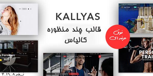 قالب وردپرس چند منظوره کالیاس   قالب Kallyas wordpress theme   نسخه 4.16.8